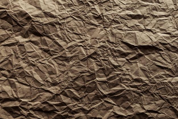 Абстрактный мятую крафт-бумаги фон