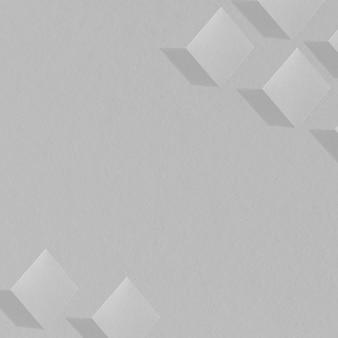 抽象的な立方体のパターン化された背景
