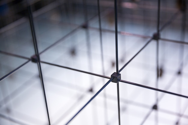Abstract cubical grid