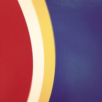 기본 색상 배경에서 추상 곡선 선 모양