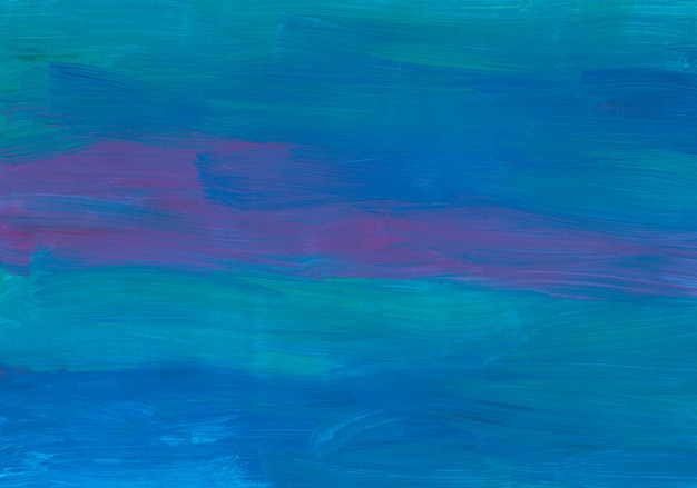 Абстрактная живопись темно-синий, фиолетовый, бирюзовый фон