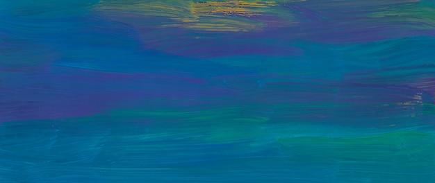 Абстрактная темно-синяя, желтая и морская зеленая текстура