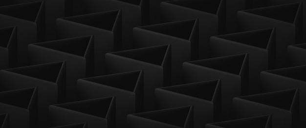 Abstract dark low contrast backdrop with triangular elements
