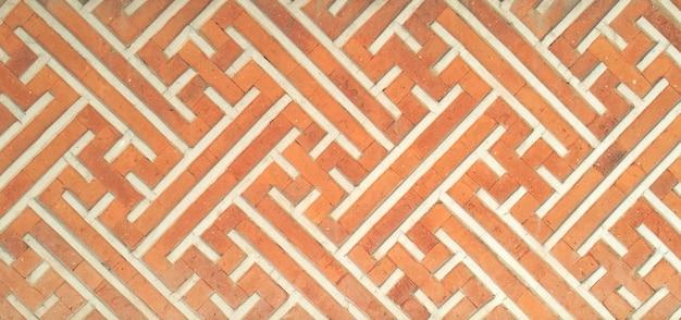 Abstract  decorative brick wall