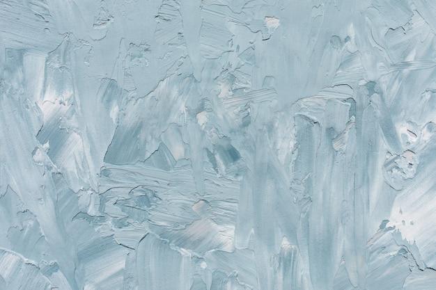 抽象的な深い青と白の大まかなコンクリート壁または漆喰のテクスチャ背景