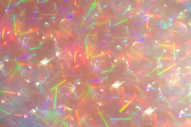 빛나는 반짝이와 추상 defocused 분홍색 배경. 오버레이 레이어로 좋습니다.