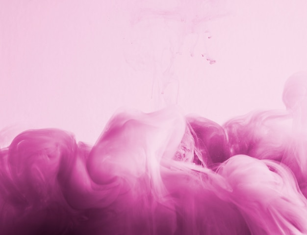 Abstract dense rose cloud of haze in pinkness