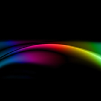Абстрактный дизайн фона с цветами радуги