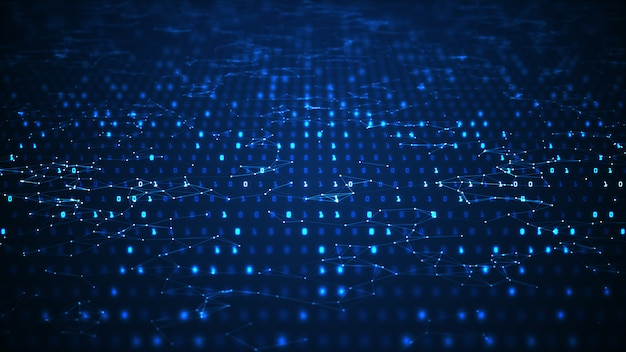 Abstract digital technology background