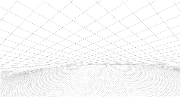 抽象画スケッチ、イラスト