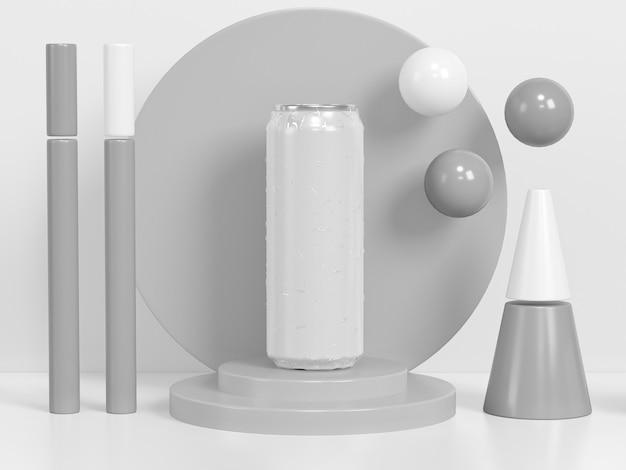 Абстрактная презентация контейнера для напитков