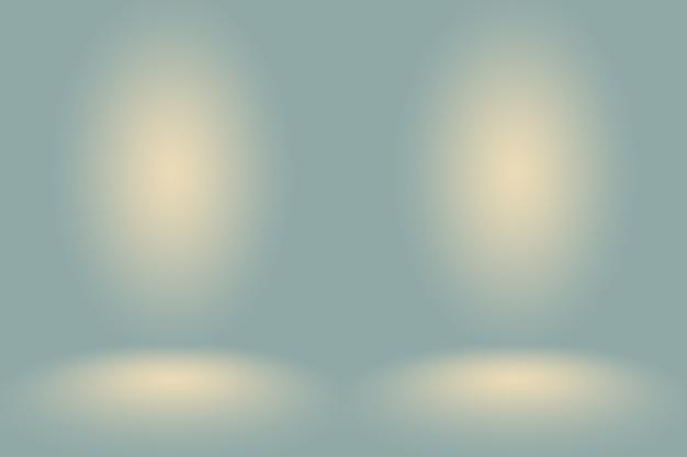 黒の無地のビネット照明スタジオの壁と床のバックと抽象的な空のダークホワイトグレーのグラデーション...