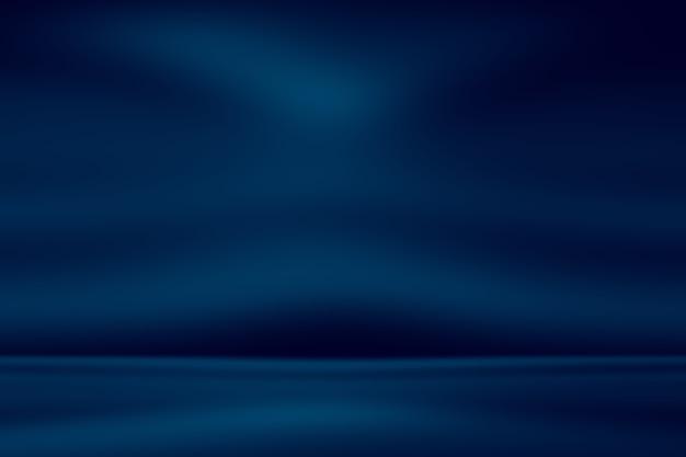 抽象的な空の光のグラデーションの青い背景