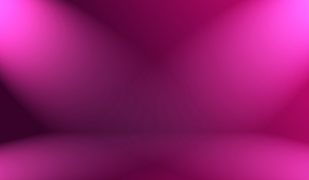 추상 빈 빛 그라데이션 보라색 배경 프리미엄 사진