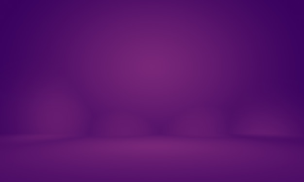 Abstract empty light gradient purple studio room background for product.