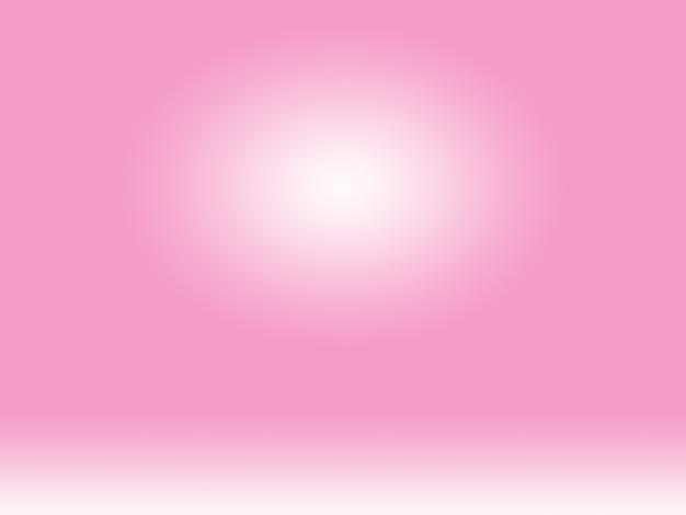 Абстрактный пустой гладкий светло-розовый фон комнаты студии, использование в качестве монтажа для отображения продукта, баннера, шаблона.