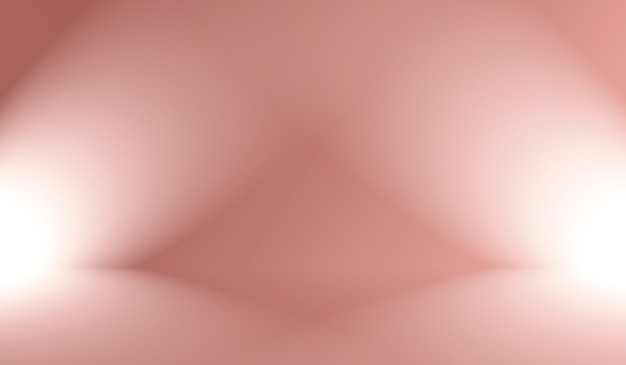 抽象的な空の滑らかなライトピンクのスタジオルームの背景、製品のディスプレイ、バナー、テンプレートのモンタージュとして使用します。