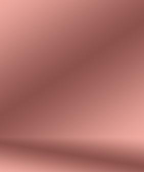 추상적으로 비어 있는 부드러운 밝은 분홍색 스튜디오 룸 배경은 제품 디스플레이 배너 온도를 위한 몽타주로 사용됩니다. 무료 사진