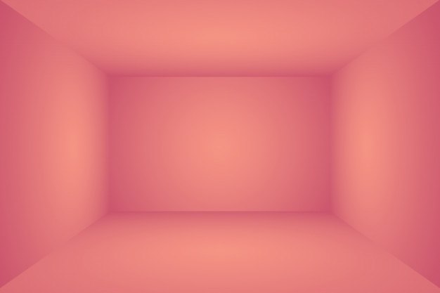Abstract empty smooth light pink studio room background