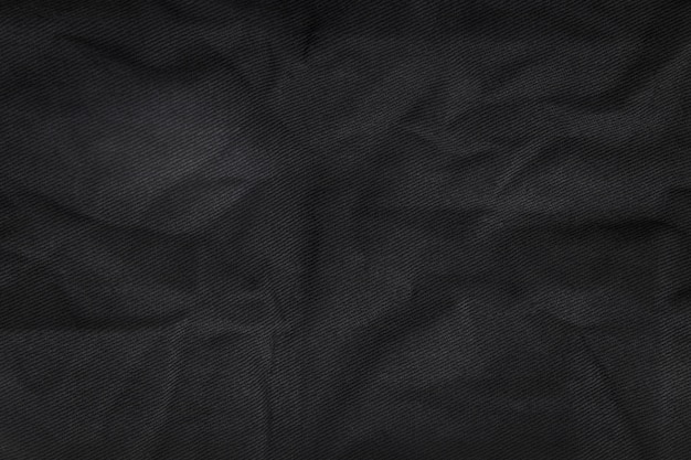 Abstract fabric texture background. crumpled canvas textile material.