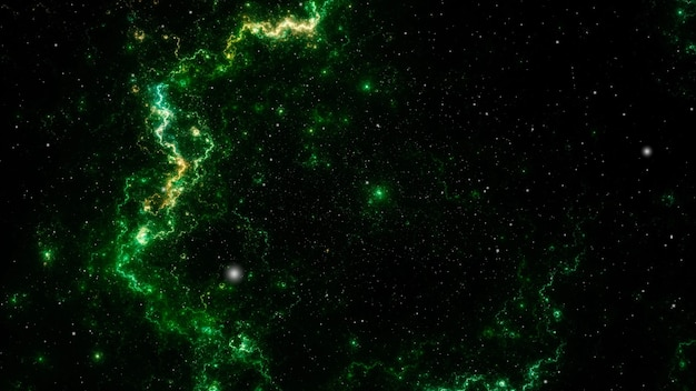 Abstract field of stars background, starry outer space