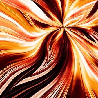 Абстрактный огненный цветок элегантный фон для вашего художественного дизайна