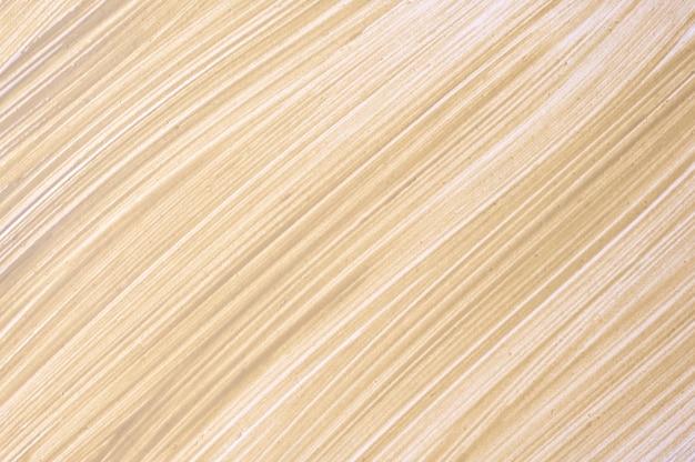 抽象的な流体アートの背景茶色。液体大理石。ベージュのグラデーションのアクリル画。