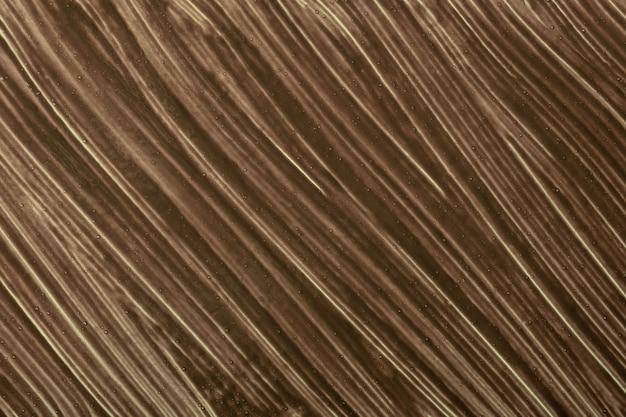抽象的な流体アートの背景茶色