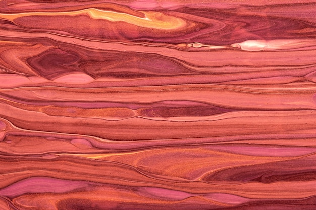 Abstract fluid art background dark red and purple colors. liquid marble. acrylic painting on canvas with maroon gradient
