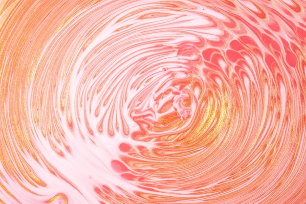 Abstract fluid art background light pink and white colors