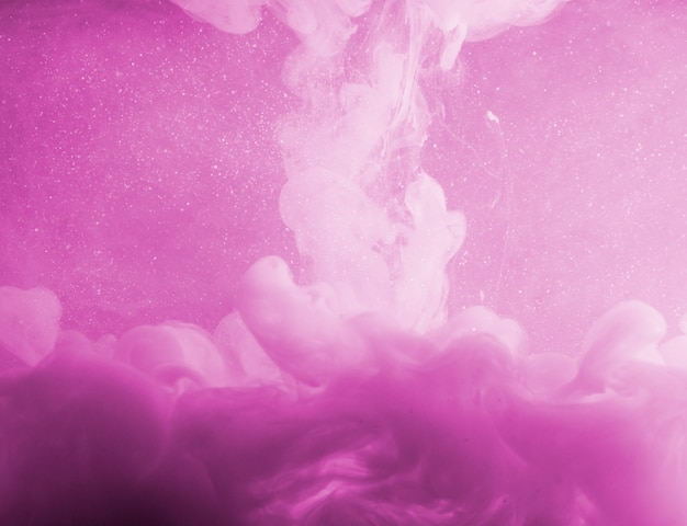 Abstract fog between pinkness