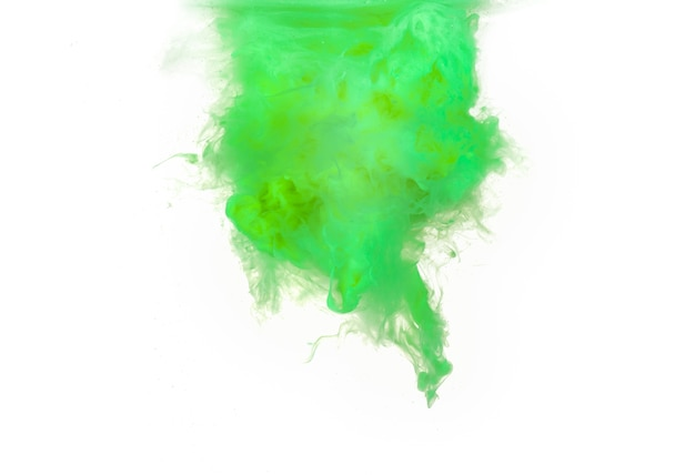 Аннотация, образованная цветом, растворяющимся в воде
