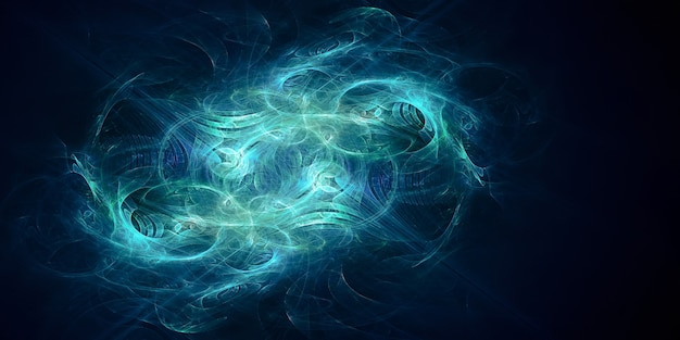 Abstract fractal design creative background for your project