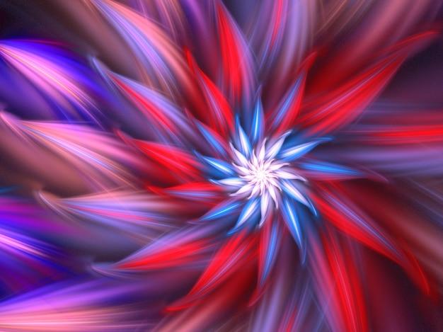 Abstract fractal. fractal art background for creative design. decoration for wallpaper desktop, poster, cover booklet, card