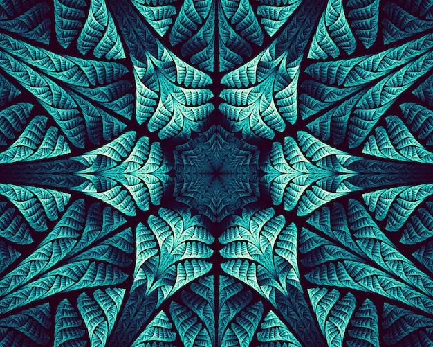 抽象的なフラクタル。創造的なデザインのフラクタルアートの背景。壁紙デスクトップ、ポスター、カバー小冊子、カードの装飾