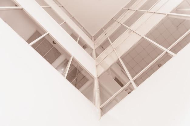 近代建築の抽象的な断片