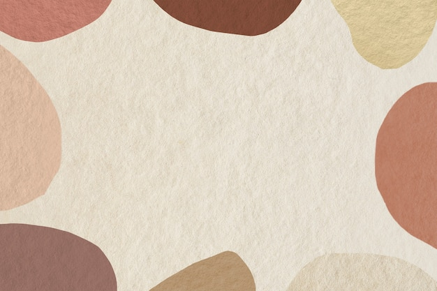 Abstract frame with earth tone pattern