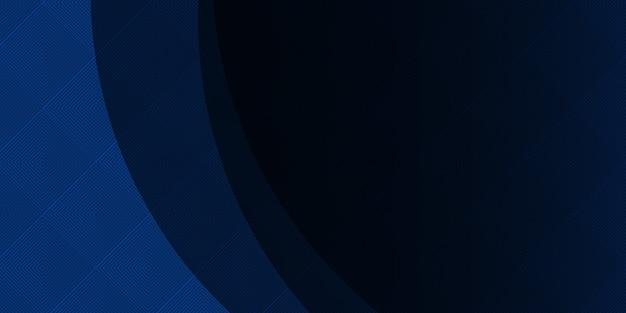 추상 미래의 현대 파 배경입니다. 동적 기술 그래픽 배너 디자인. 벡터 기업 배경