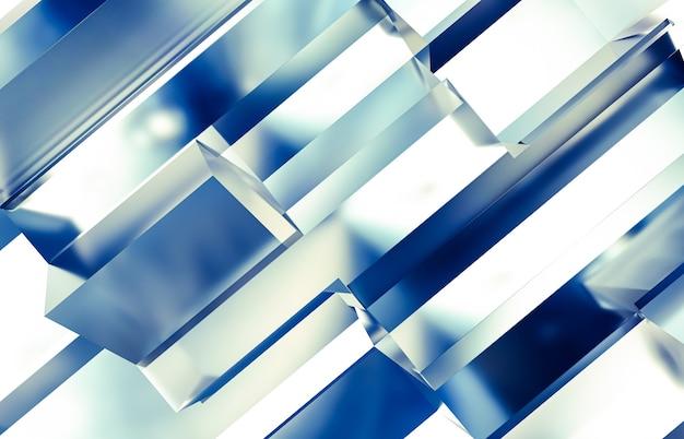虹色の質感を持つ抽象的な未来技術の背景