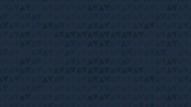 Абстрактные геометрические синие маленькие треугольники на современном фоне. элегантный и роскошный стиль 3d иллюстрации для делового и корпоративного шаблона