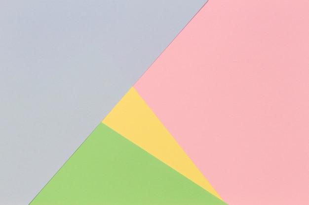 Абстрактный геометрический фон бумаги в светлых пастельных тонах
