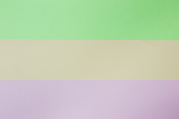 Abstract geometric paper background. pink, green and orange trend colors. concept or idea picture