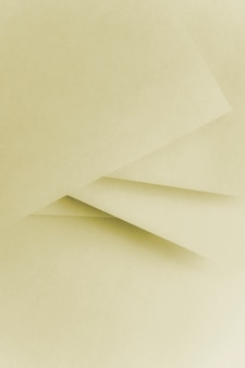 Abstract geometric paper texture cardboard background