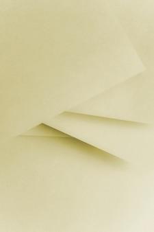 抽象的な幾何学的な紙のテクスチャ段ボールの背景