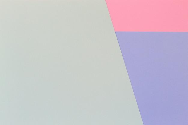 抽象的な幾何学的なパステルカラーの紙の背景