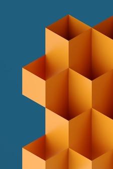 シンプルな形の抽象的な幾何学模様のテクスチャデザインスタイルのモダンな幾何学構成のアートワーク...