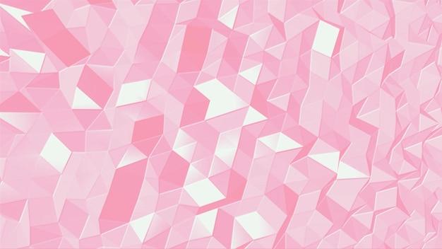 Абстрактный геометрический розовый маленький шестиугольник на современном фоне. элегантный и роскошный стиль 3d иллюстрации для делового и корпоративного шаблона