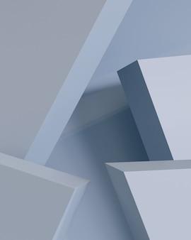 Abstract geometric shape, minimal polygon design background.