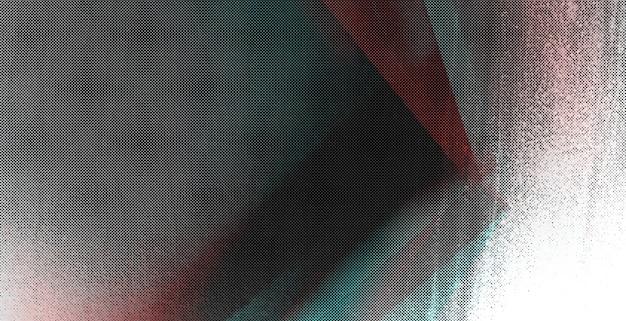 抽象的なグリッチの背景、カラー二重露光。