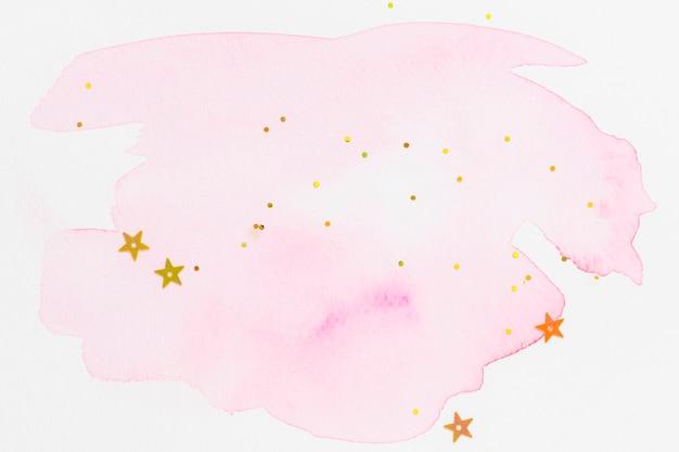 抽象的なキラキラピンクの水彩テクスチャの壁紙
